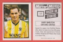 Oxford United Gary Shelton